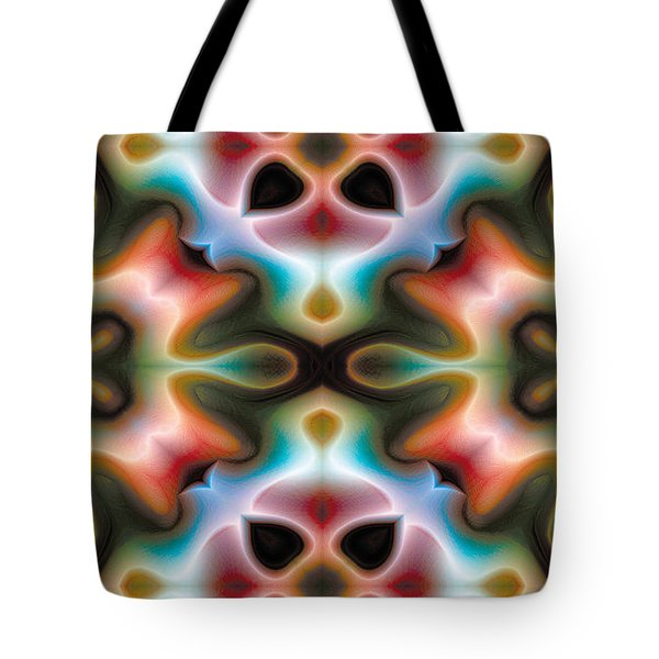 Mandala 82 For Iphone Double Tote Bag by Terry Reynoldson