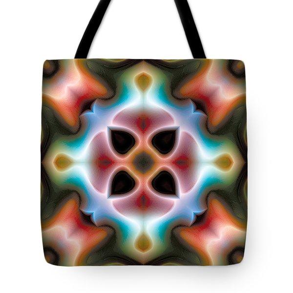 Mandala 82 Tote Bag by Terry Reynoldson