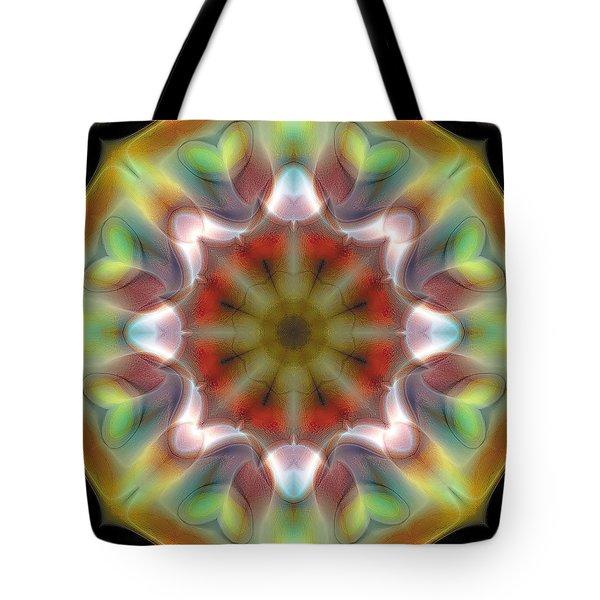 Mandala 97 Tote Bag by Terry Reynoldson