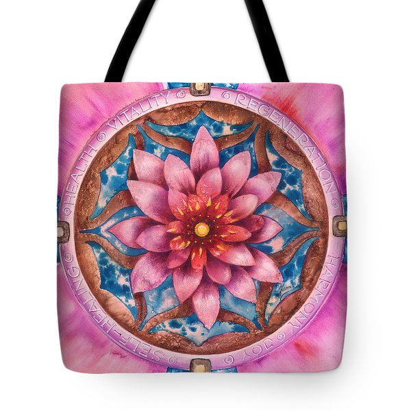 Mandala Of Health Tote Bag