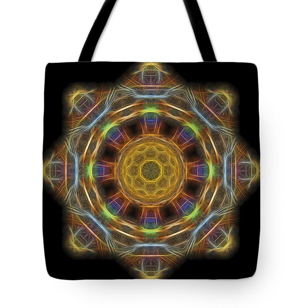 Mandala Of Light 1 Tote Bag