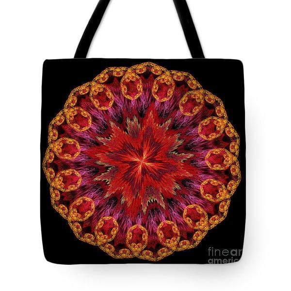 Mandala Of Love Tote Bag by Martin Capek