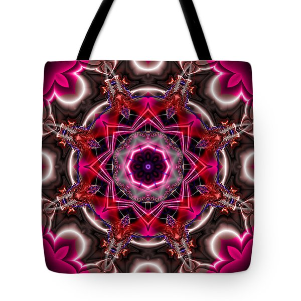 Mandala Of The Unseen Tote Bag by Edward Anderson