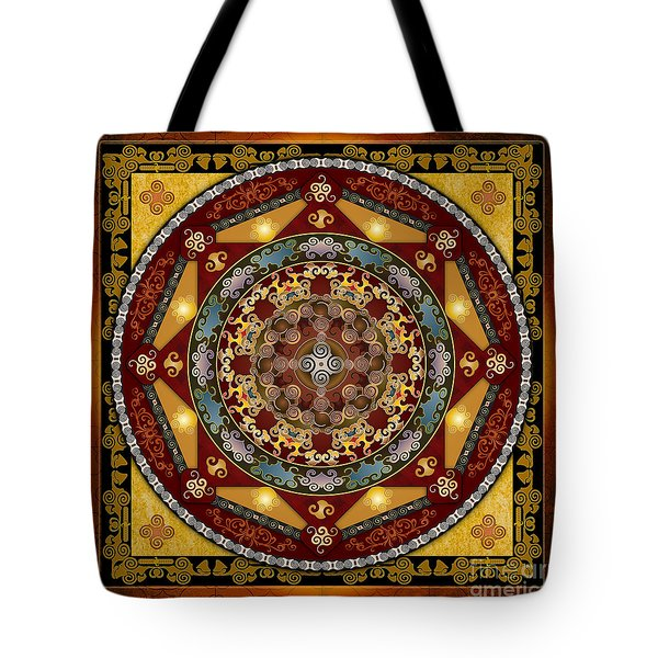 Mandala Oriental Bliss Tote Bag