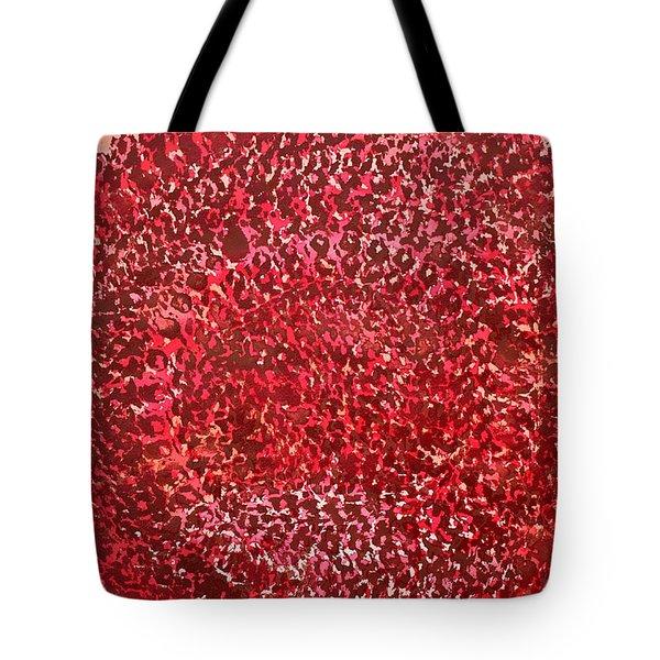 Mandala Sun Original Painting Tote Bag by Sol Luckman