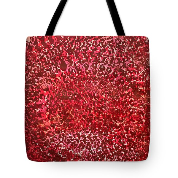 Mandala Sun Original Painting Tote Bag