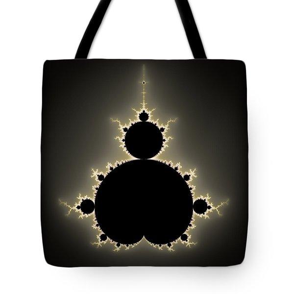 Mandelbrot Set Square Format Art Tote Bag
