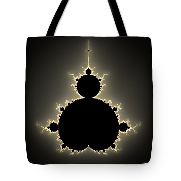 Mandelbrot Set Square Format Art Tote Bag