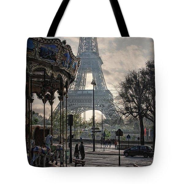 Manege Parisienne Tote Bag by Joachim G Pinkawa