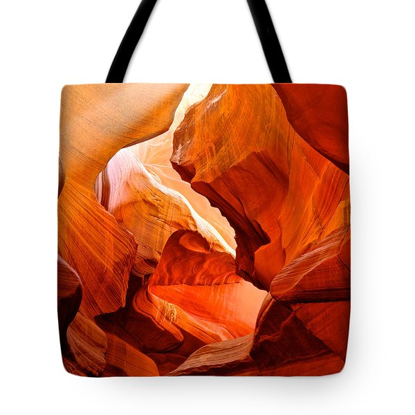 Manger Scene In Lower Antelope Canyon-az Tote Bag by Ruth Hager