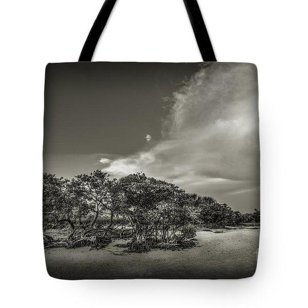 Mangrove At Low Tide Tote Bag