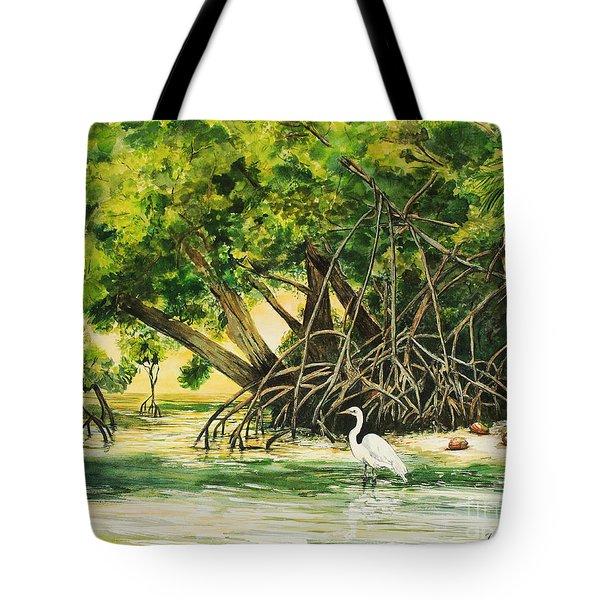 Mangrove Morning Tote Bag