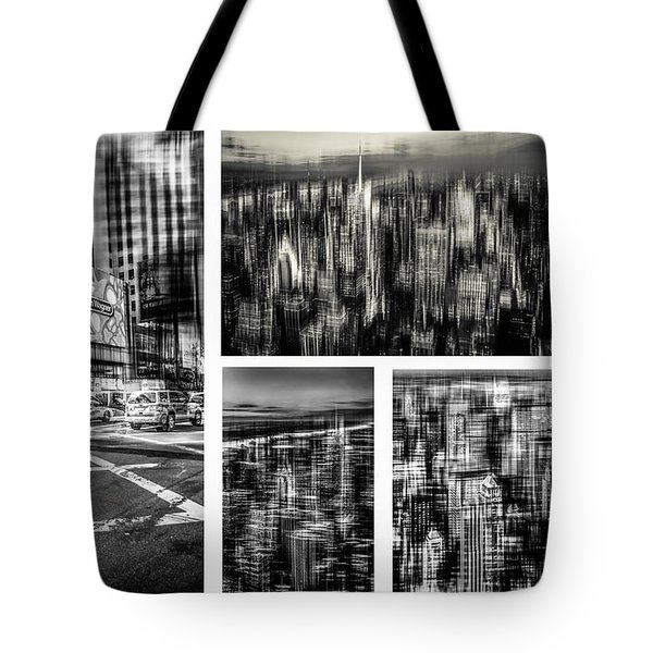 Manhattan Collection I Tote Bag by Hannes Cmarits