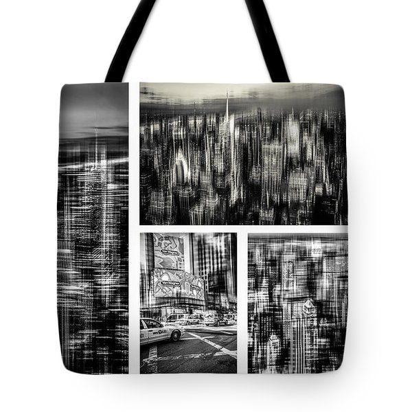 Manhattan Collection II Tote Bag by Hannes Cmarits