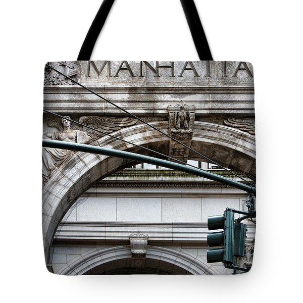 Manhattan Tote Bag by Joanna Madloch