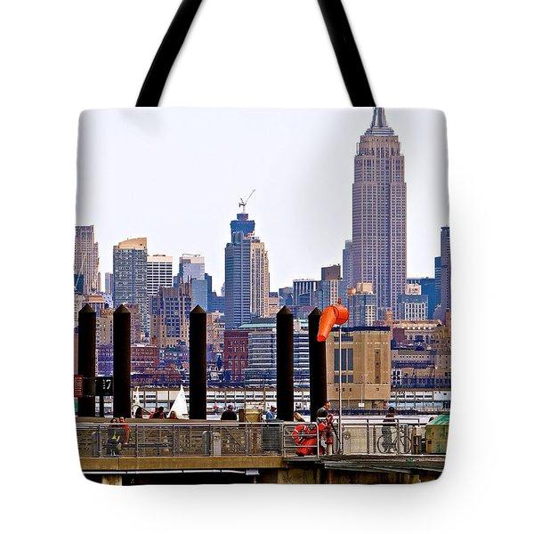 Manhattan Midtown Twilight Tote Bag