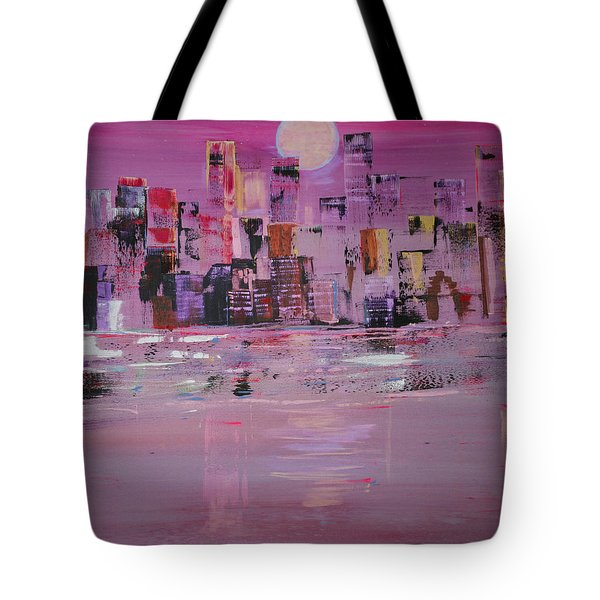 Manhattan Moonshine Tote Bag
