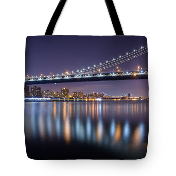 Manhattan Reflections  Tote Bag