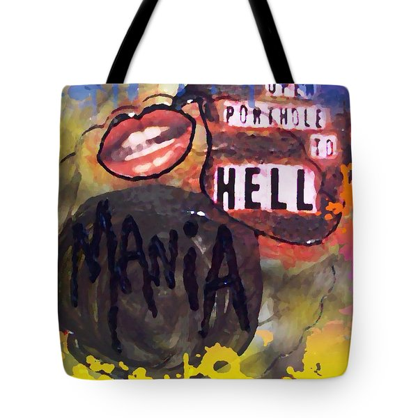 Mania Tote Bag by Lisa Piper