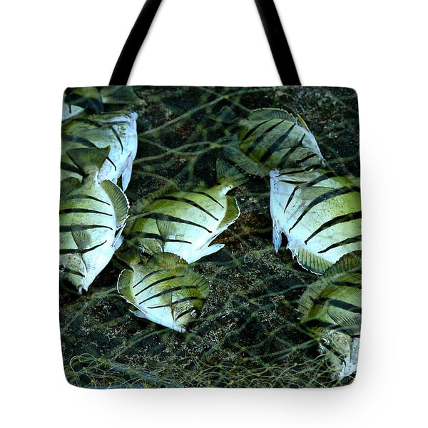 Manini Catch Tote Bag by Lehua Pekelo-Stearns