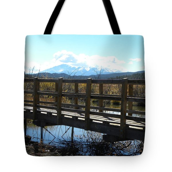 Lake Manitou Sp Woodland Park Co Tote Bag