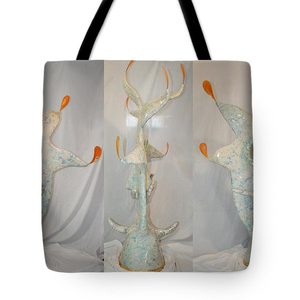 Manitou The Jester Tote Bag by Ric Bascobert