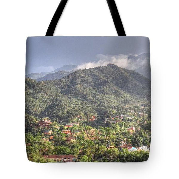 Tote Bag featuring the photograph Manitou To The South I by Lanita Williams