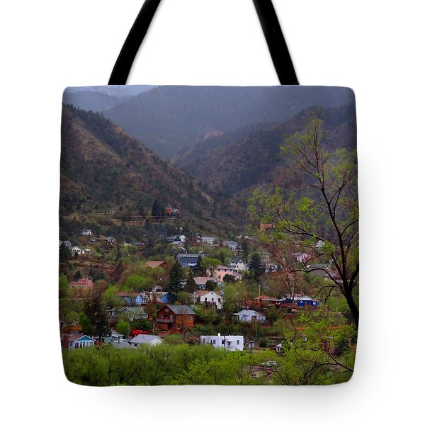 Tote Bag featuring the photograph Manitou To The South IIi by Lanita Williams