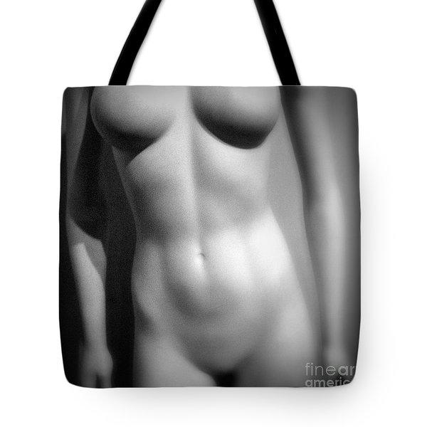 Mannequin Torso Tote Bag