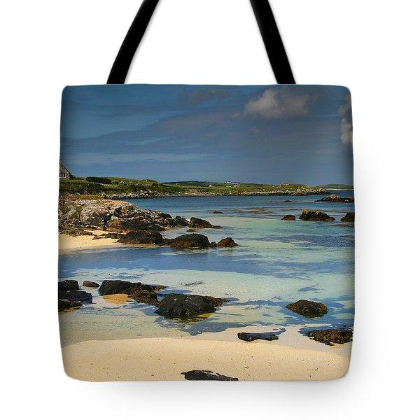 Mannin Bay Ireland Tote Bag