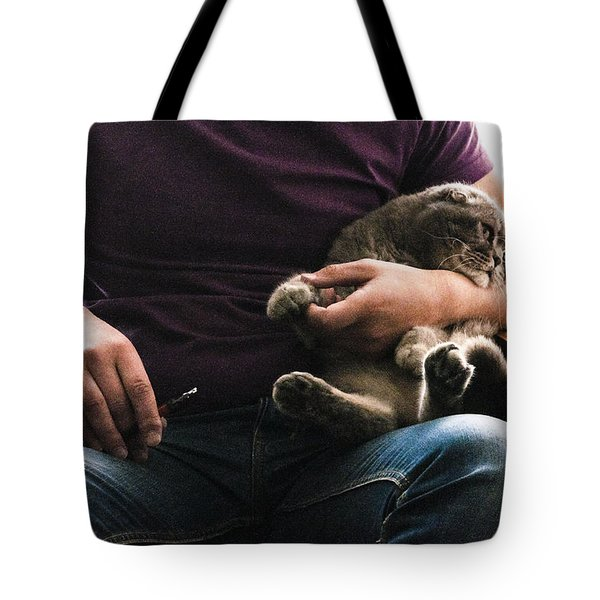 Man's Thing Tote Bag by Yevgeni Kacnelson