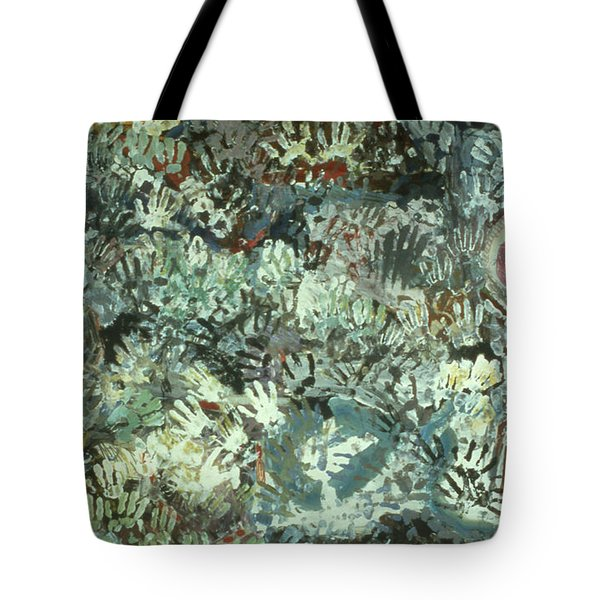 Many Desperate Hands Tote Bag