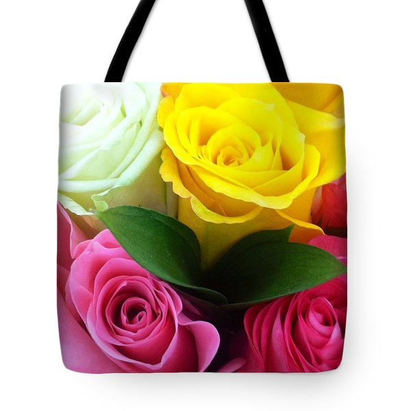 Many Roses Tote Bag