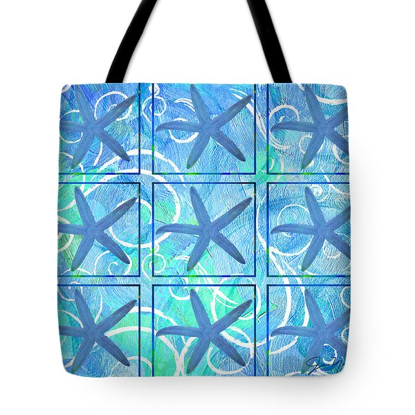 Many Stars By Jan Marvin Tote Bag