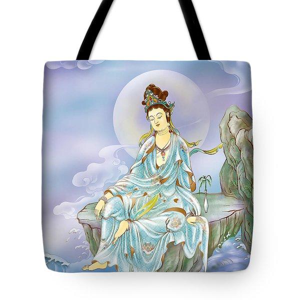 Many Treasures Avalokitesvara  Tote Bag