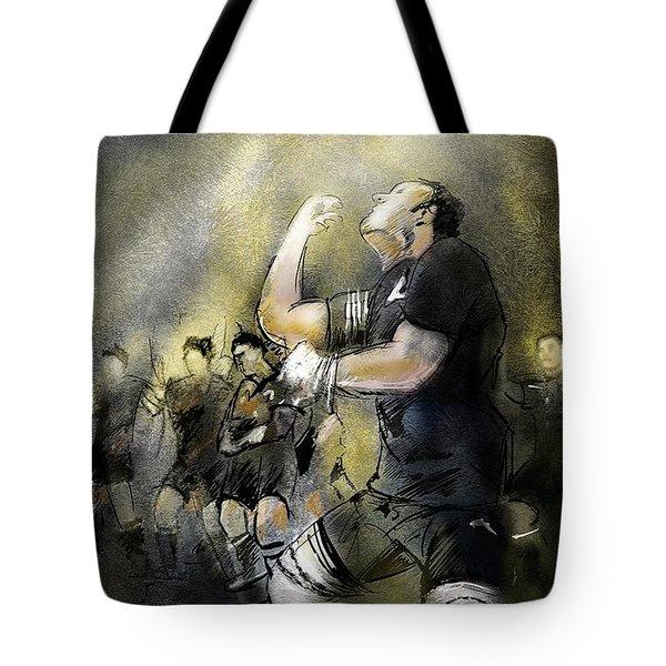 Maori Haka Tote Bag