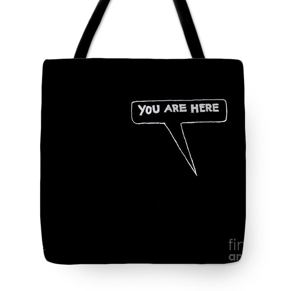 Map Of The Universe Tote Bag by Kip DeVore