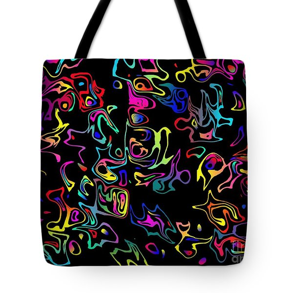 Map Of Western Archipelagos Tote Bag by Mark Blauhoefer