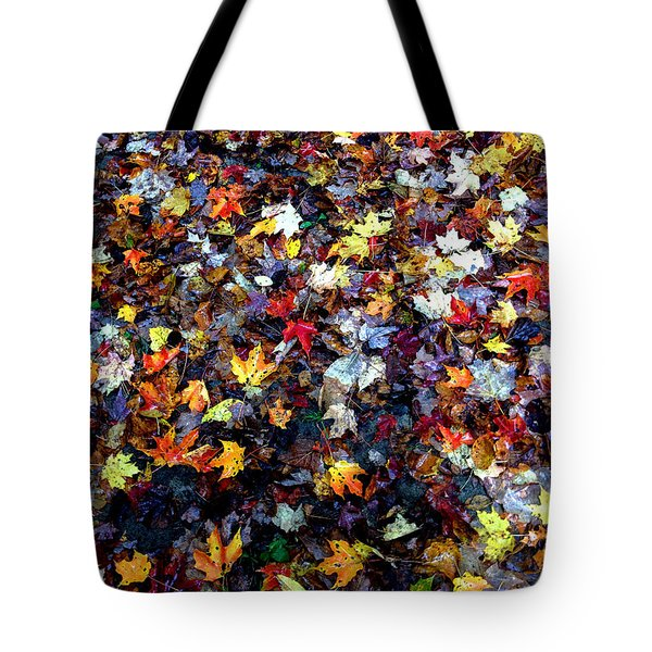 Maple Chaos Tote Bag