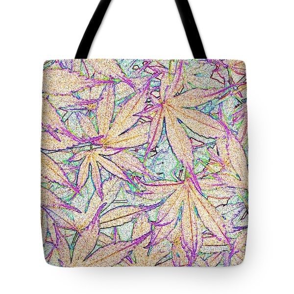 Maple Leaves No.5 Tote Bag