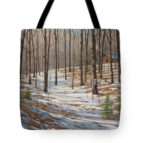 Maple Woods Tote Bag