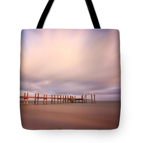 Marathon Key Long Exposure Tote Bag by Adam Romanowicz