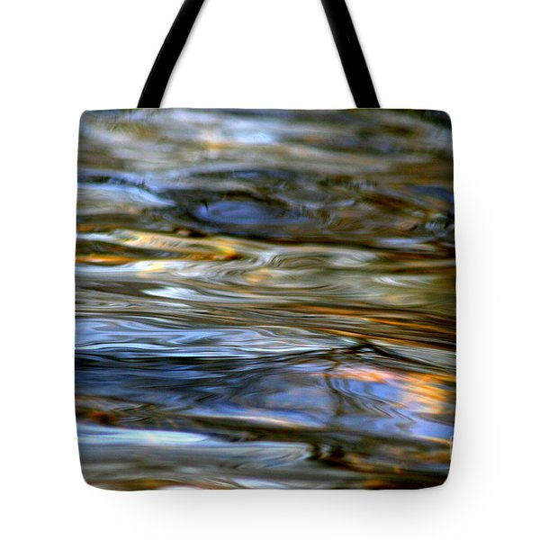 Marbeled Movement Tote Bag by Neal Eslinger