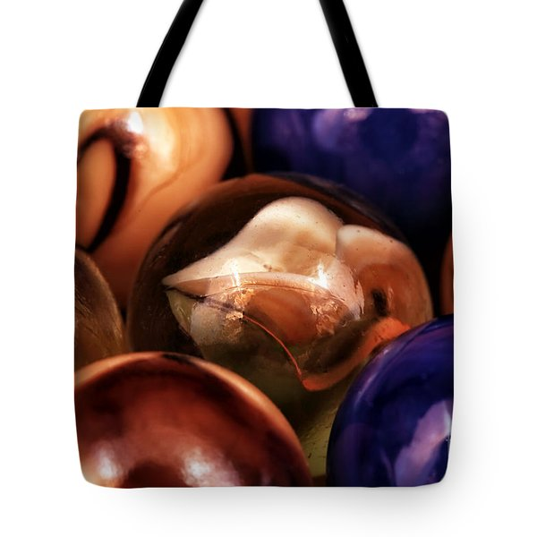 Marble Choices Tote Bag by John Rizzuto