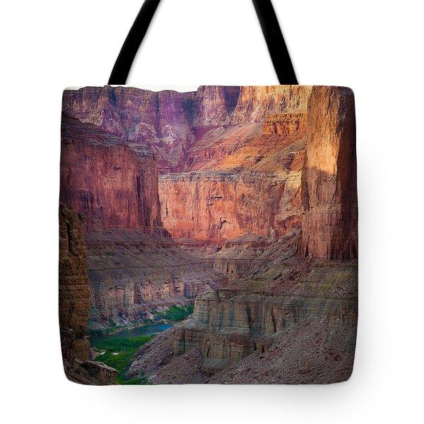 Marble Cliffs Tote Bag