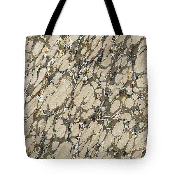 Marble Endpaper Tote Bag