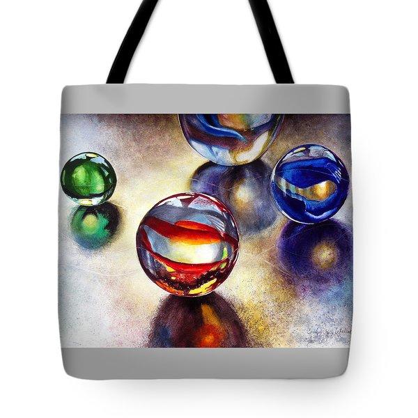 Marbles 2 Tote Bag