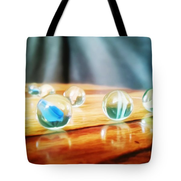 Marbles Reflection Tote Bag