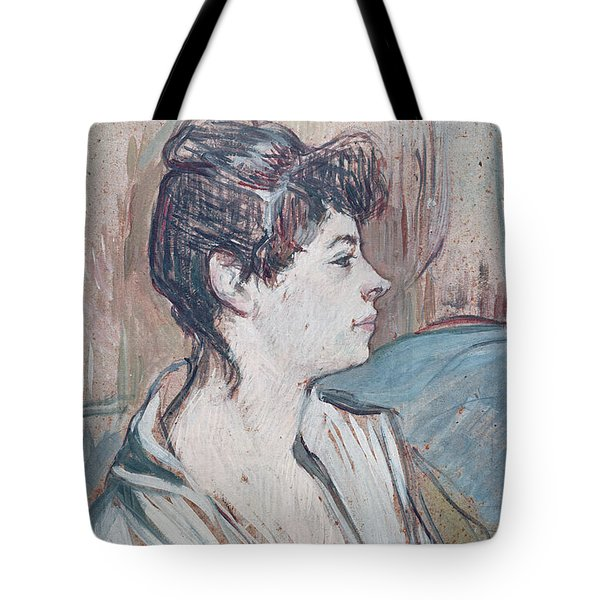 Marcelle, 1894 Pastel On Paper Tote Bag