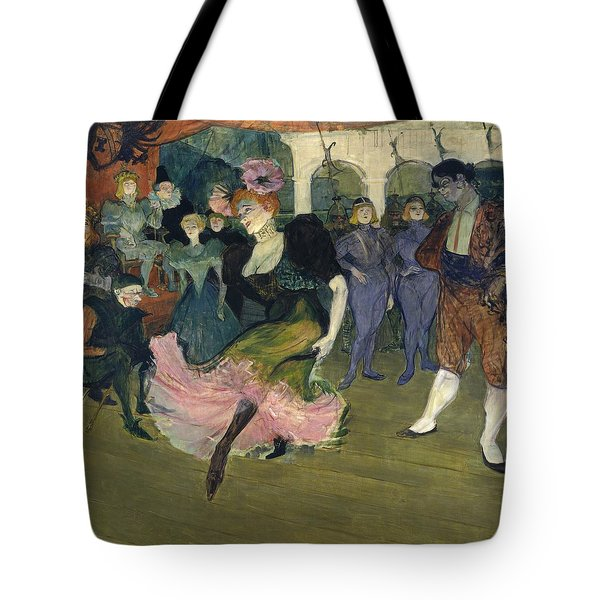 Marcelle Lender Dancing The Bolero In Chilperic Tote Bag by Henri de Toulouse-Lautrec